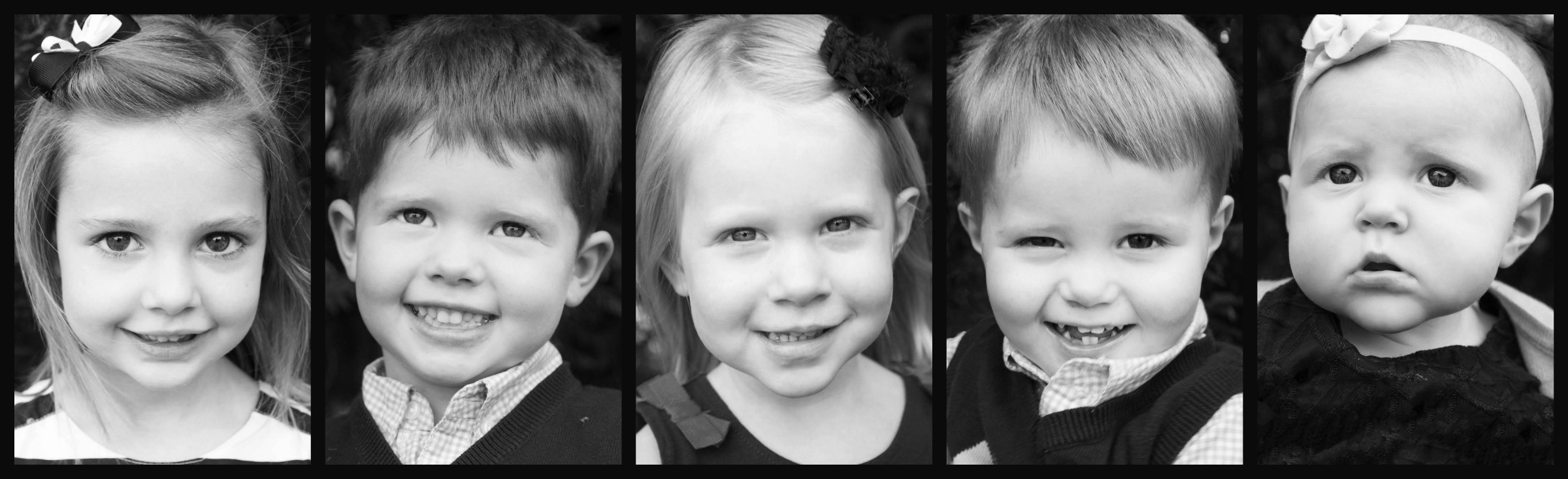 Lewis grandchildren collage2